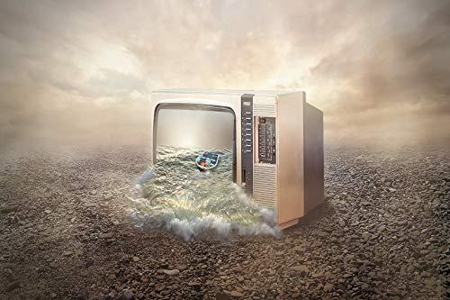 LIZELUO Escritorio para Laptop Barco En La Televisión Se Puede Usar para Desayunar Leer Mirar Películas En La Cama/Sofá 60x40cm