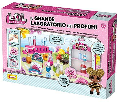 Liscianigiochi- Surprise Het grote laboratorium voor parfum, meerkleurig, 70510