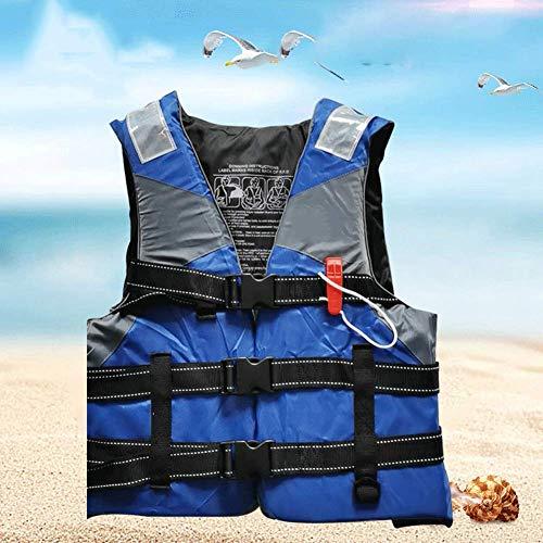 DBWIN Schwimmweste, Schwimmweste für Kinder, Schnorchelweste Schwimmweste Tragbare aufblasbare Kajak-Kanujacke Tauchen Wassersport, Geeignet für Kinder 40 kg, Blau