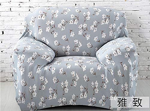 1/2 / 3/71 Seater Chair Cover,Universal-Sofabezug für Vier Jahreszeiten, elastischer Kissenbezug mit vollständiger Abdeckung, Schutzbezug für das Möbelsofa, modisches Wohnzimmer-Sofa-Antifouling-Kiss
