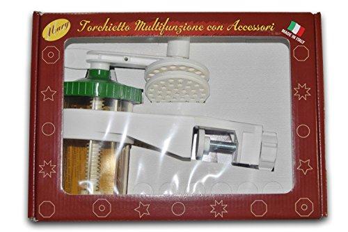 Elettro Center Torchietto per Passatelli, Bianco, 4 Unità, Art.319