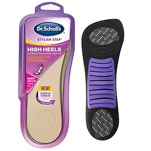 Dr. Scholl's Soft Cushioning Insoles for High Heels, New Packaging