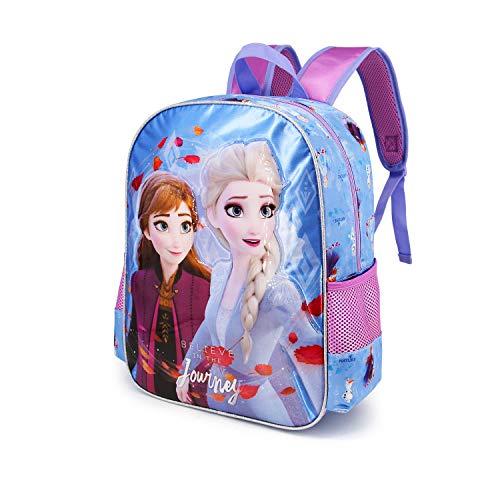 Karactermania Frozen 2 Journey - Mochila Basic Freetime, Multicolor