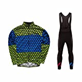 Uglyfrog 2018#51 Ciclismo Maillots Long Sleeve Cycling Jersey+Pantalones Hombres Bib Set Primavera de Bicicleta de Ropa de Ciclo
