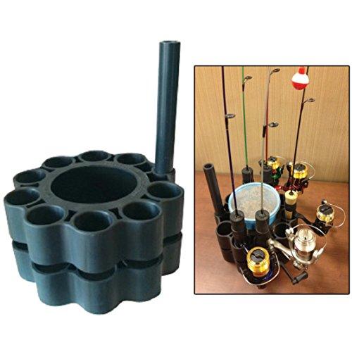FRR, LLC Ice Fishing Rod Retainer Holder Carrier for Multiple Poles