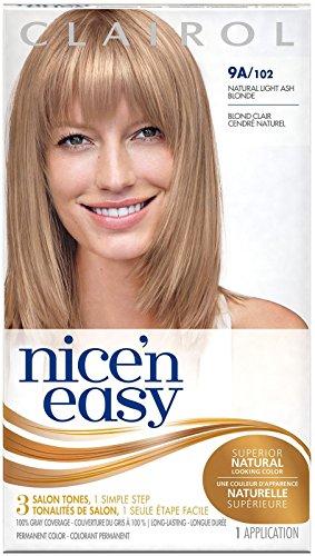 Clairol Nice 'n Easy Permanent Color, Natural Light Ash Blonde 1 ea