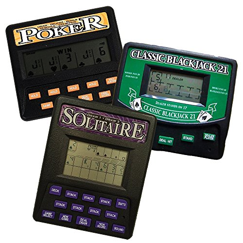3 in 1 Gambling Handheld Video Game Pack