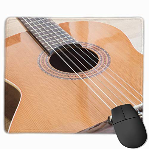 Cute Mouse Pad for Laptop Computer Non-Slip Small Home Travel Mouse Pads for Man Women-A Classical Guitar Six Nylon Strings