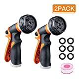 Forthcan Garden Hose Nozzle - 2 Pack Watering Hose Nozzles - Hand Sprayer