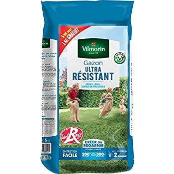 Vilmorin Gazon Ultra Résistant Vert 1 kg
