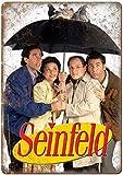 CDecor Seinfeld Tv Show Blechschilder, Metall Poster, Retro