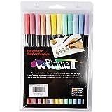 Marvy Le Plume II Marker, pastellfarben, 12 Stck.