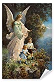 Postereck - Poster 0152 - Schutzengel und Kinder, Altes