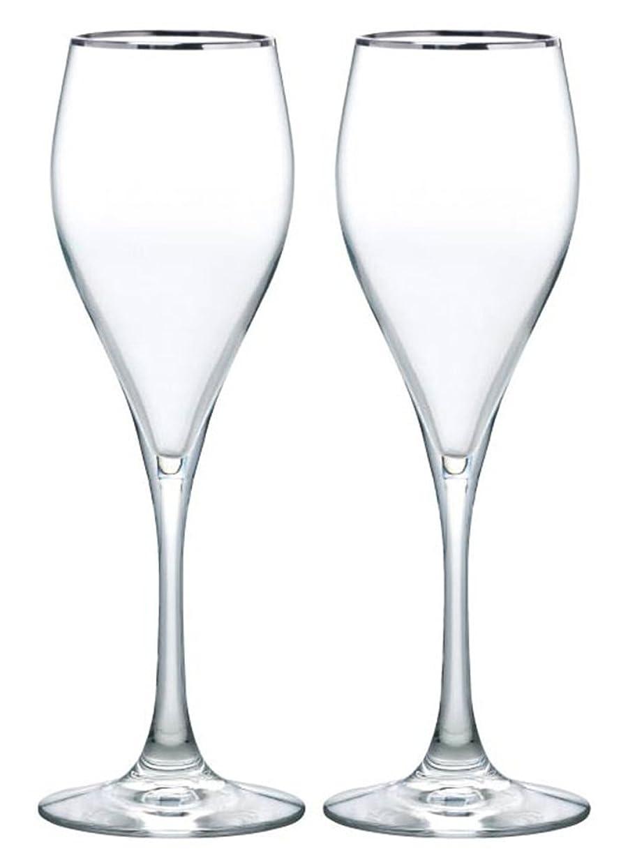 結婚する恐怖銀東洋佐々木ガラス ペアシャンパングラス 205ml ベネディーレ 泡立ちシャンパンセット 日本製 G098-S103 2個入り