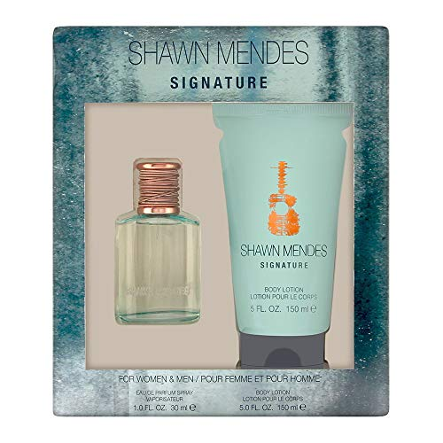 Shawn Mendes Signature 2 Piece Set: 1 oz/30ml Eau de Parfum Spray + 5 oz/150ml Body Lotion