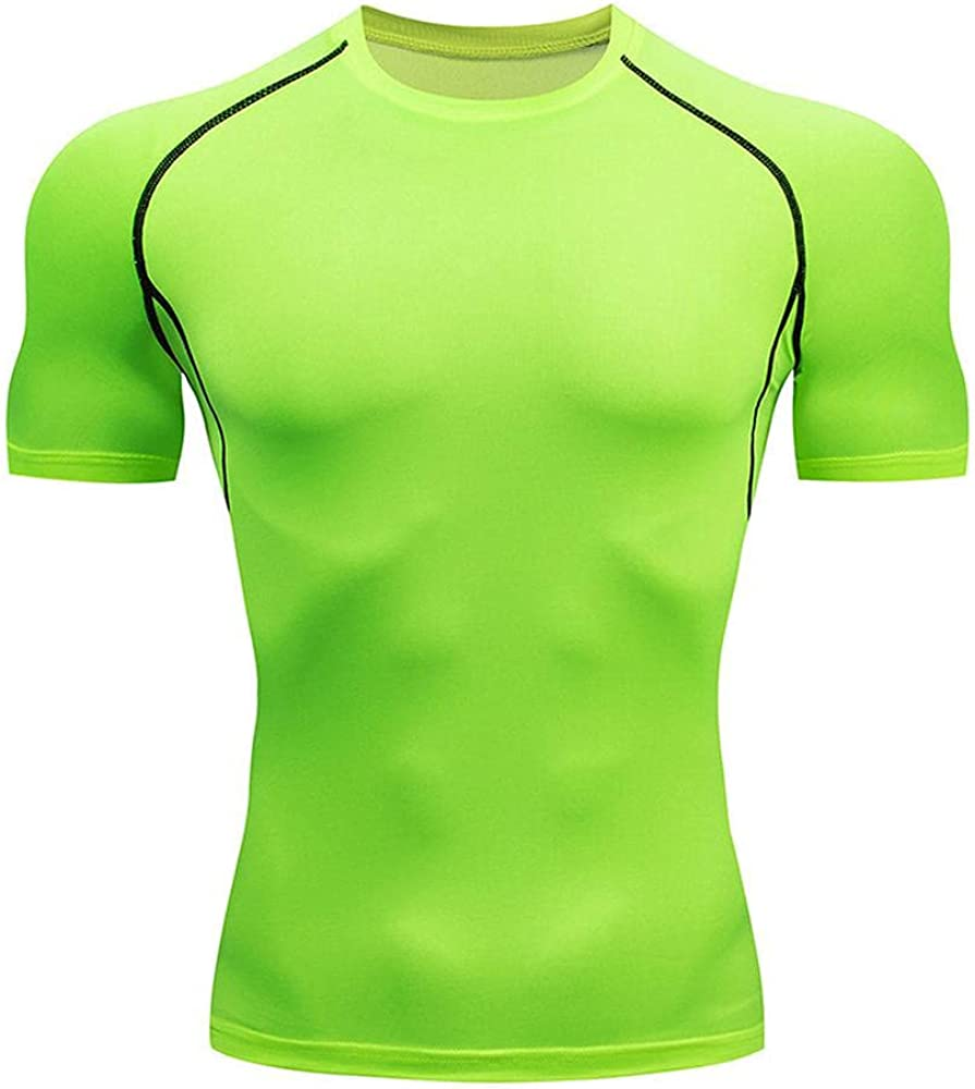Mens Fitness Clothes Max 79% OFF Workout Sport Super sale Qui Running Top Shirt