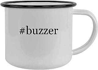 #buzzer - 12oz Hashtag Camping Mug Stainless Steel, Black