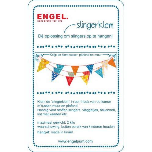 Engel. Hang-it slingers clips wit