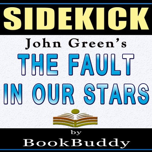 The Fault in Our Stars: by John Green - Sidekick audiobook cover art