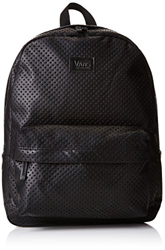 Vans - Cameo, Mochila Mujer, Negro (Perforated Stars/Black), Talla Unica