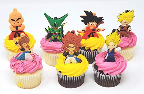 Dragon Ball Z Cupcake Toppers (Set of 6)