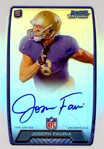 Joseph Fauria autographed Football Card (UCLA Bruins) 2013 Bowman Chrome Rookie #RCRAJFA - Autographed College Cards