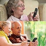 artfone Seniorenhandy ohne Vertrag | Dual SIM Handy mit Notruftaste | Rentner Handy große Tasten | 2G GSM Handy| |1000 mAh Akku Lange Standby-Zeit | Großtastenhandy - 7