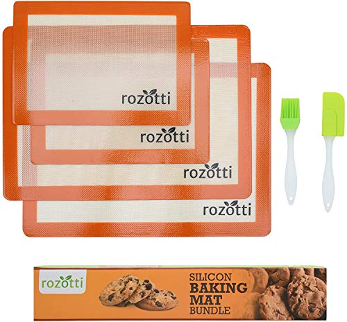 Our #4 Pick is the Rozotti Silicone Baking Mat