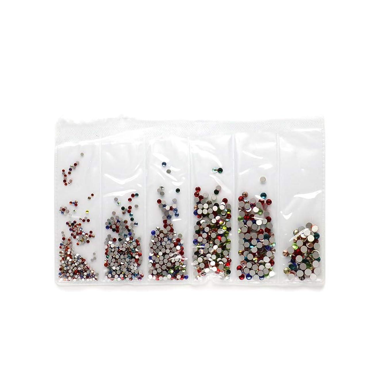 好色な切手舌irogel ガラス製ラインストーンセット SS4~SS16 【カラーMIX】