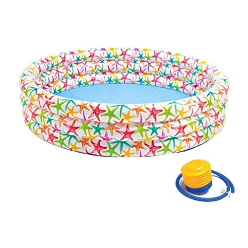 LKOER Bebé Inflable bañera Grande Piscina Piscina niño pequeño niño Antideslizante Caja Fuerte para niños Agua diversión jinyang