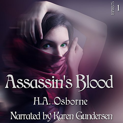Assassin's Blood audiobook cover art