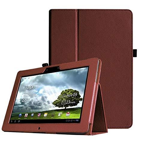 para ASUS MEMO Pad FHD 10 ME302C ME302K ME302 ME301T ME302KL 10.1 Pulgadas Tablet PU CUBIERTE Cubierta-marrón