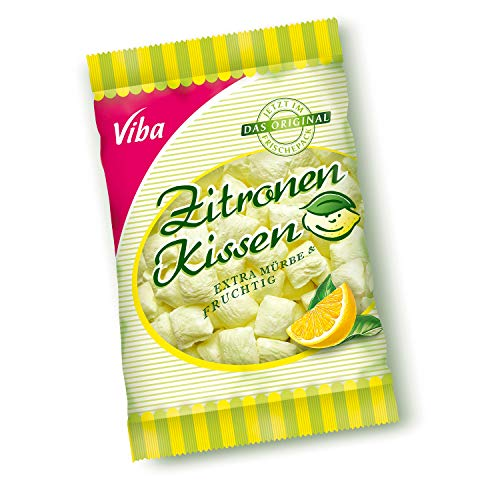 Zitronenkissen Viba ++ DDR Traditionsprodukt