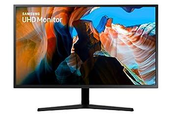 SAMSUNG 32 inch UJ59 4k monitor  LU32J590UQNXZA  - UHD 3840 x 2160p 60hz 4ms Dual monitor laptop monitor monitor stand / riser / mount compliant AMD FreeSync Gaming HDMI DP Black