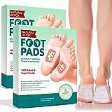 Xnuoyo 20pcs Cerotti Detox Per Piedi Detox per Piedi Migliorare la Circolazione, Aumentare l'Energia, Foot Patch 100% Ingredienti Naturali Alleviare Lo Stress Migliorare Il Sonno