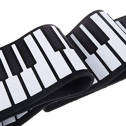 Jurenay Piano Nuevo USB 88 Teclas Midi Roll Up Teclado de Piano...
