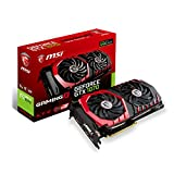 MSI NVIDIA GTX 1070 Gaming X 8G Grafikkarte (HDMI, DP, DL-DVI-D, 2 Slot Afterburner OC, VR Ready,...