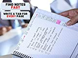 TABi A5 Note Organiser - a New and Uniquely Designed Notebook and Planner System with a tab on Every Page to...