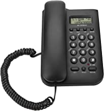 $22 » Landline Telephone, Landline Phone, Mounted on Wall Wired Telephones with DTMF/FSK System, Number/time Check for Home Hote...