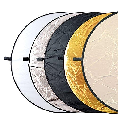 Hauser und Picard Multi-Faltreflektor Yoko 110Cm 43 Zoll Schwarz, Silber, Gold, Weiÿ By Esmart Germany