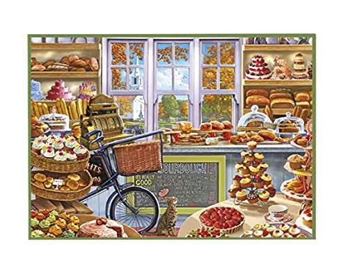 Puzzle de 500 piezas, 49 x 35 cm; serie Nostalgie Magasin Retro La Magboutique de Tartas, ref: 81892