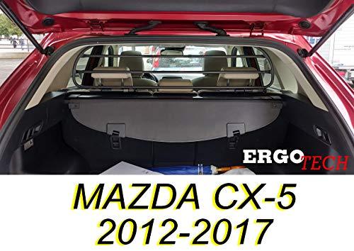 ERGOTECH Trenngitter Hundegitter MAZDA CX-5 RDA65HBG-S, Hunde und Gepäck. Sicher, garantiert!