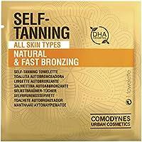 Comodynes Toallitas Autobronceadoras Faciales y Corporales Natural para Todo Tipo de Pieles 8 uds, Blanco