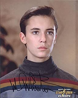 WIL WHEATON as Wesley Crusher - Star Trek: TNG GENUINE AUTOGRAPH