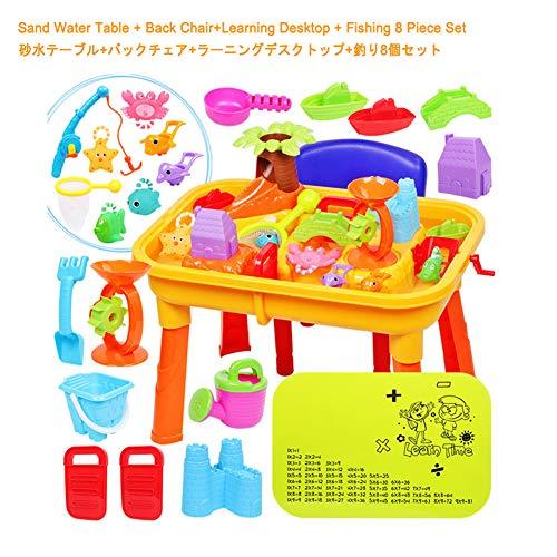 Zand En Water Speeltafel Voor Buiten, Zand- En Watertafel Met Deksel En Accessoires Buitenspeeltuin Voor Kinderen,B