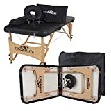 STRONGLITE Portable Massage Table Olympia - Double Knobs, Package...