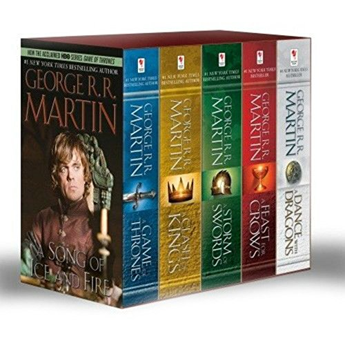 A Game of Thrones Set Five Book Box…