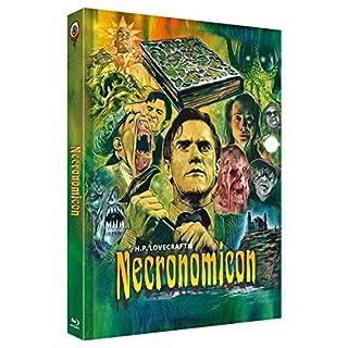 H.P.Lovecrafts Necronomicon - Mediabook - Cover C - 3-Disc Limited Collector's Edition Nr. 31 - limitiert auf 333 Stück  (+ DVD
