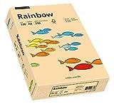 Papyrus 88042502 Drucker-/Kopierpapier farbig, Bastelpapier Rainbow: 120 g/m², A4, 250 Blatt Buntpapier, lachs
