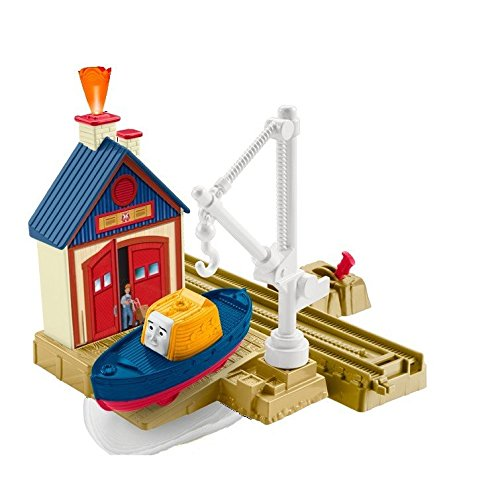 Fisher-Price Thomas the Train TrackMaster Captain at the Rescue Center トーマス レスキューセンターのキャプテン フィッシャープライス【平行輸入品】